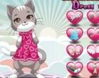 لعبة تلبيس القطة الجميلة