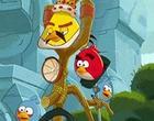 لعبة رمي الطيور الغاضبة