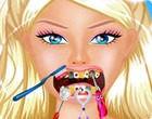 العاب باربى تنظيف الاسنان