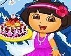لعبة طبخ الكيك مع دورا