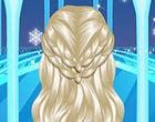 لعبة تسريح شعر السا