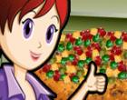 العاب طبخ كيكة الفواكه مع سارة