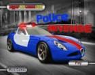 لعبة سيارة الشرطة